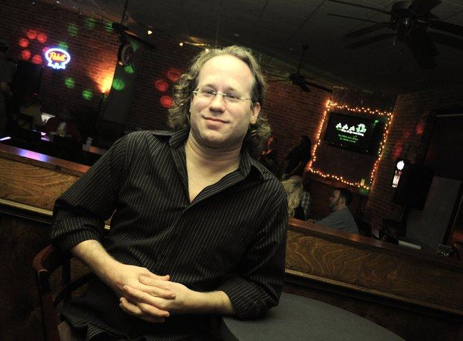 Matt Collette is karaoke king.