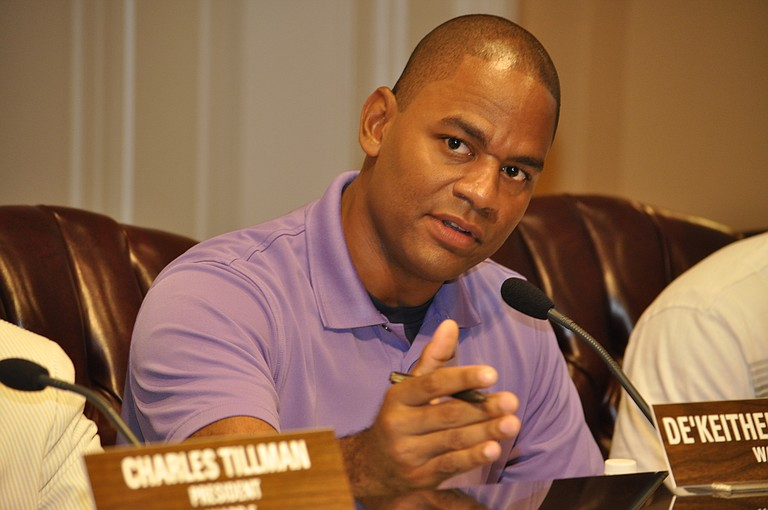 Jackson Councilman DeKeither Stamps, Ward 4, is a proponent of Mayor Chokwe Lumumba's plan to expand public works.