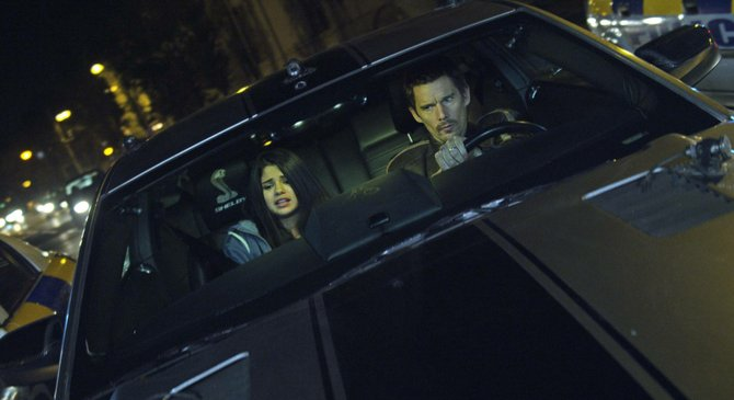 """A slick car outperforms Selena Gomez and Ethan Hawke in the regrettable """"Getaway."""""""