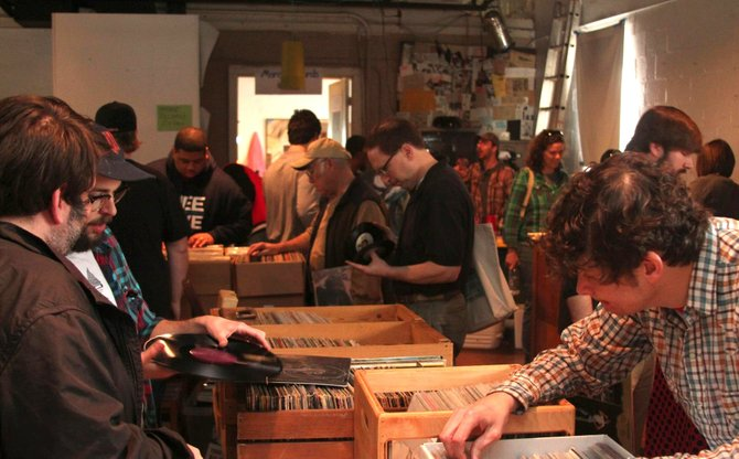 The ninth 4 the Record swap is Sept. 28 at Hal & Mal's.