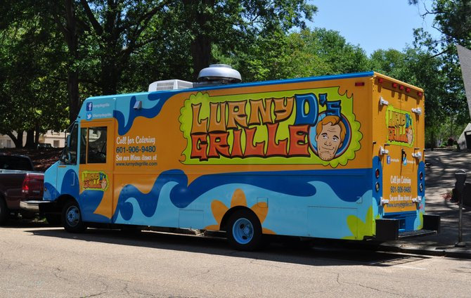 Lurny D's food truck is one new business helping reinvigorate interest in Jackson parks.