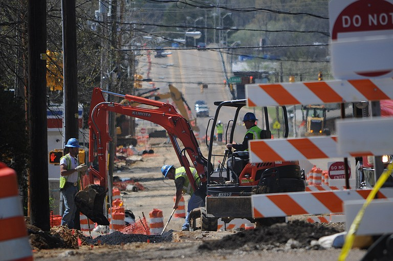 Jackson's Department of Public Works may have found a way to break the impasse with the city council that has slowed construction on the Fortification Street renovation project for almost a month.