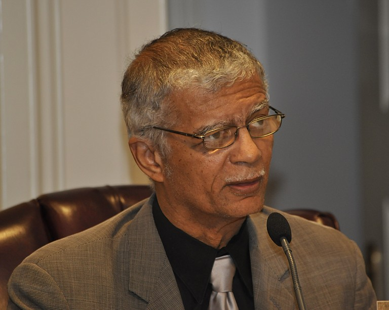 Mayor Chokwe Lumumba brushed off concerns from Jackson City Council members at Monday's work session about the 1-percent sales tax, which Jacksonians would have to pass by referendum.