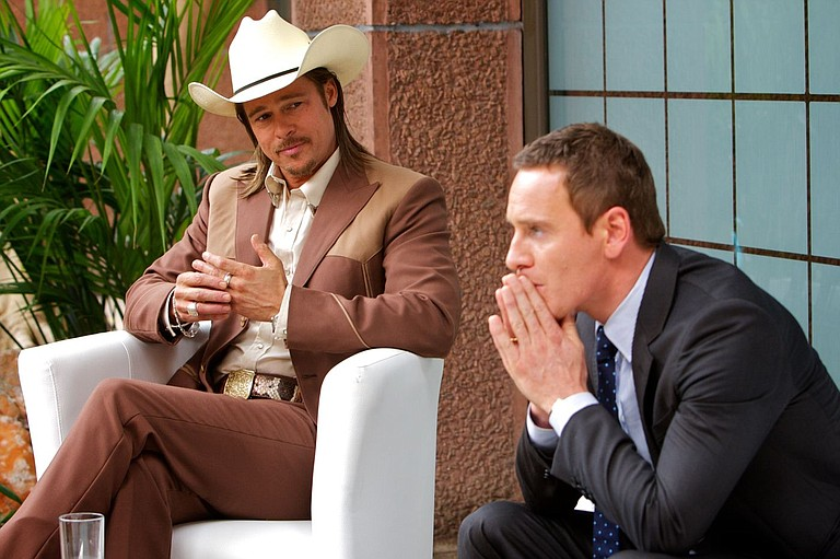 """Brad Pitt and Michael Fassbender are among the beautiful faces in the disappointing """"The Counselor."""""""