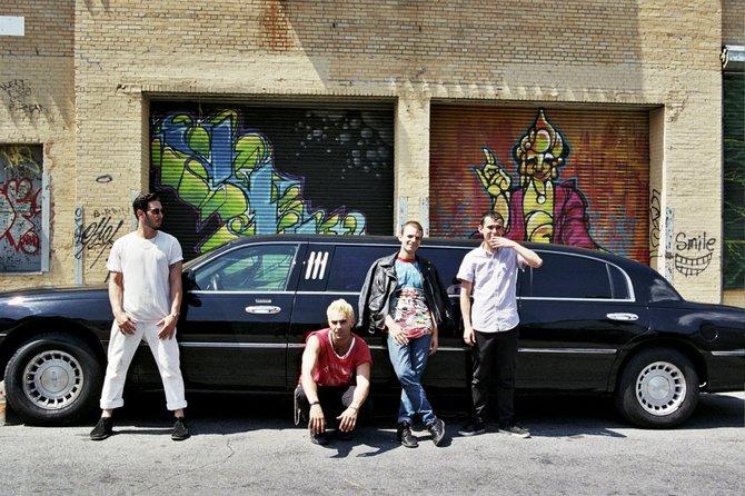 Brooklyn-based punk band The So So Glos perform Nov. 2 at Martin's Lounge.