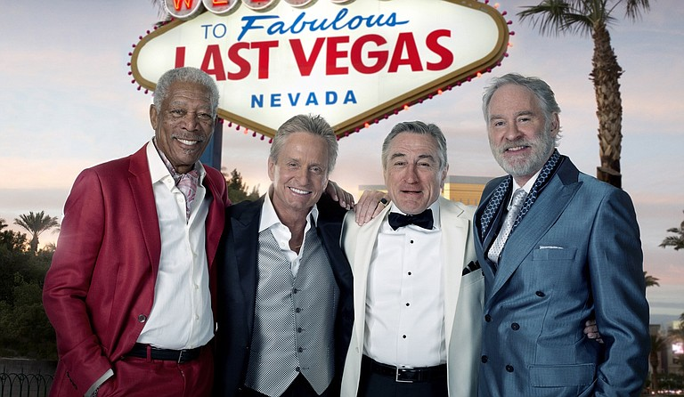 "Industry giants Morgan Freeman, Michael Douglas, Robert DeNiro and Kevin Kline unite in ""Last Vegas."""
