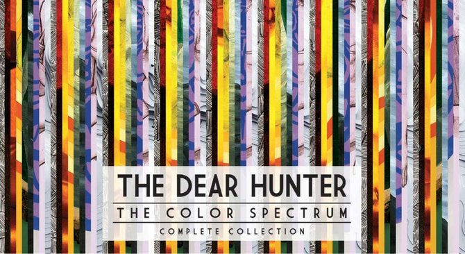 """The Dear Hunter's """"The Color Spectrum"""" series is a good example of artists putting out smaller collections of songs while working on their next full-length album."""