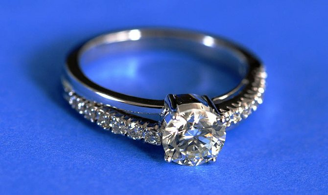 When shopping for a diamond, you have to worry about the 4 Cs: color, cut, clarity and carat weight.