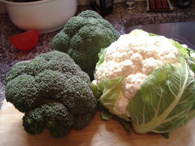 Early winter is the perfect time to use local seasonal produce, such as broccoli and cauliflower, before most farmers markets close up shop for the season.