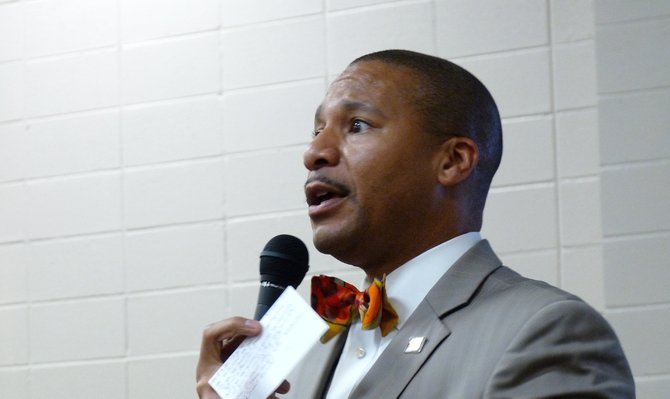 JPS Superintendent Dr. Cedrick Gray—now in his second year at the helm of Mississippi's largest urban school district—urged parents to take better account of what their children are doing on social media.