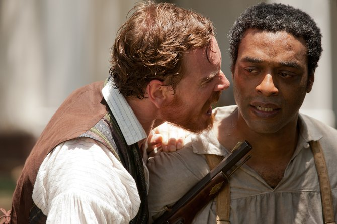 """12 Years a Slave,"" starring Michael Fassbender and Chiwetel Ejiofor, is author Jordan Sudduth's pick for Best Picture at this year's Academy Awards."
