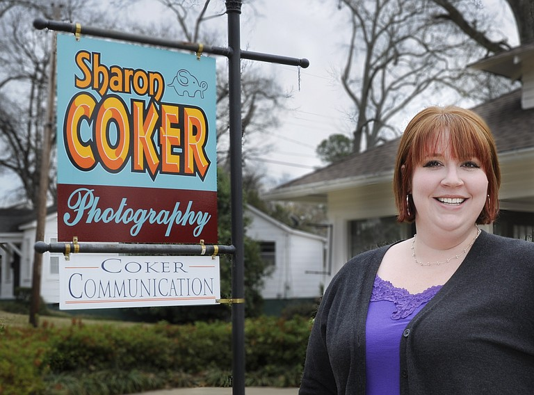 Sharon Coker will open her new photography studio March 6 during Fondren After 5.