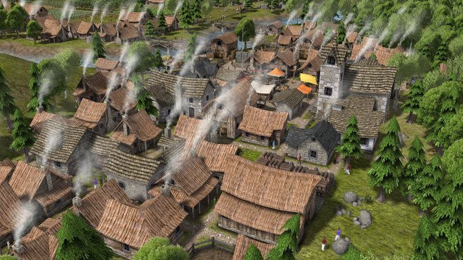 "The simplicity of world-building in the spartan ""Banished"" puts the focus on survival."