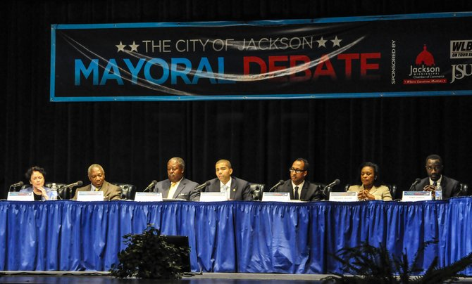 In at least the fourth mayoral debate of the short campaign season, held last night and hosted by WLBT-TV and Jackson State University, several of the candidates showed that they are solidifying their positions on a number of issues.