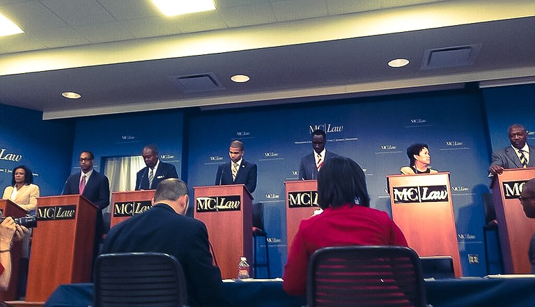 In Friday's debate, which WAPT-TV and The Clarion-Ledger hosted, candidates were allowed to pose their own questions to their fellow candidates, which made for more than a few raised eyebrows.