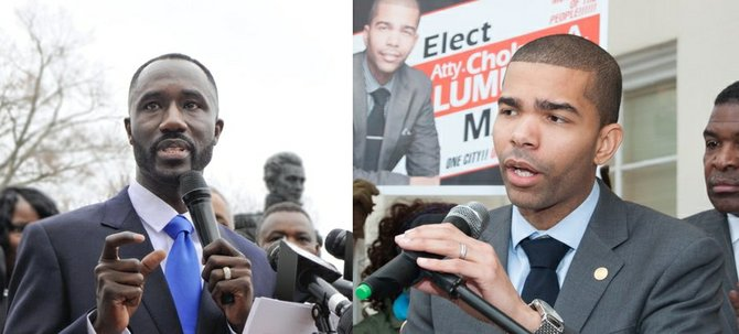 Tony Yarber and Chowke Antar Lumumba are headed to a run-off election in the 2014 special election.