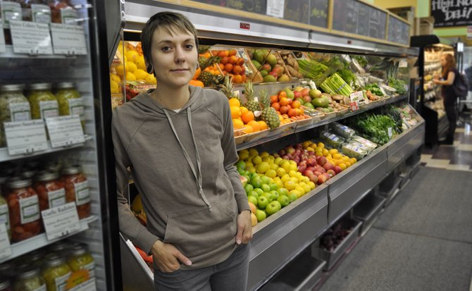 Shelby Parsons, the community-outreach coordinator at Rainbow Co-op, says the natural grocery store is as interested in the health of the Jackson community as it is financial success.