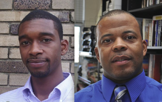 Among the names of possible Yarber replacements are Tyrone Hendrix (left), a longtime Democratic Party operative who helped manage Jonathan Lee's campaign for mayor in 2013, and Robert Amos (right), who competed in the 2013 Democratic primary for Jackson mayor.