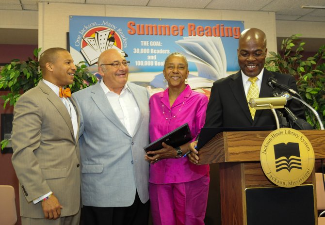Richard and Sandra Koritz recently liquidated their book publishing company and donated  some 34,000 books to the City of Jackson in memory of the late Mayor Chokwe Lumumba, whom the couple admired.