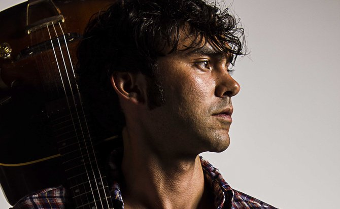 Austin native songwriter and actor Alejandro Rose-Garcia performs as Shakey Graves at Duling Hall May 16.