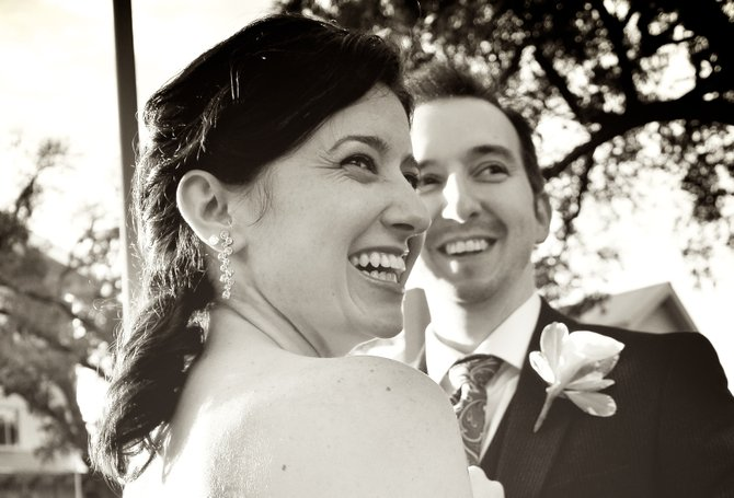 Beth Kander and Danny Dauphin got hitched.