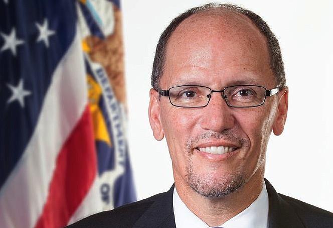 Thomas Perez, Secretary of the U.S. Department of Labor.