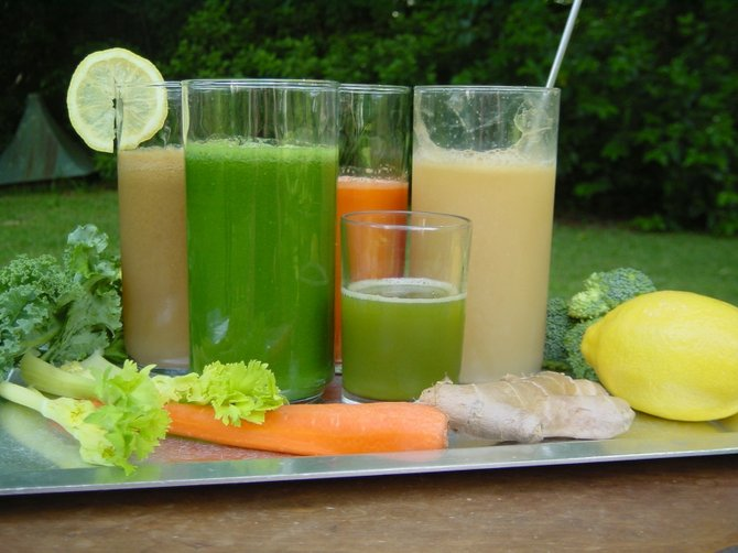 Juicing is a great way to get your fruits and veggies in, and also have a delicious drink.