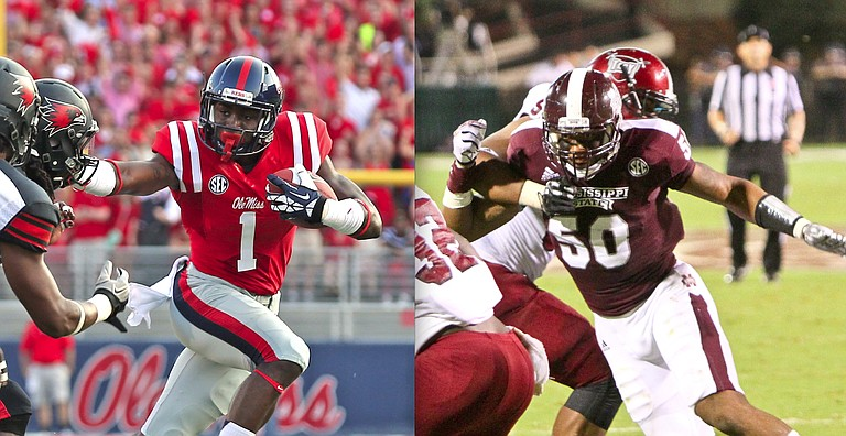 Laquon Treadwell (Ole Miss) and Benardrick McKinney (Mississippi State University)
