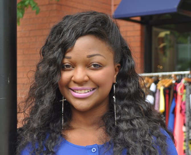 Marissa Simms, Mississippi's SBA Entrepreneur of the Year and the owner of Royal Bleau Boutique, founded the Bleau Print Project to help cultivate entrepreneurship.