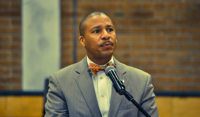 Cedrick Gray, Jackson Public Schools superintendent, helped implement programs for JPS freshmen this school year, but fired four of his top administrators for an unknown reason.