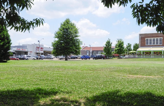 Plans call for a 100-room, four-story urban boutique-style Hampton Inn with an underground parking garage at the corner of Duling Avenue and Old Canton Road, which is now a vacant grassy lot near Babalu Tacos & Tapas.