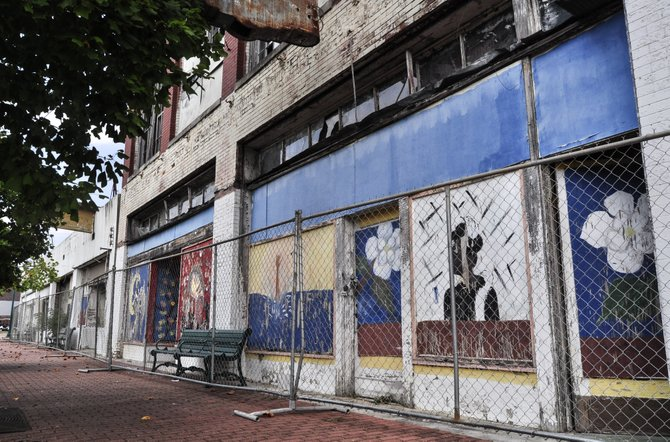 The Jackson Redevelopment Authority will have to spend more than $350,000 to make quick fixes to several buildings on Farish Street.