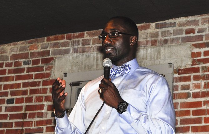 """Mayor Tony Yarber said that the sale-tax money would not be used in isolation, but that the commission and city would look for opportunities to apply for grants that require a match and to """"leverage debt,"""" but he offered no specifics on how debt would be used."""