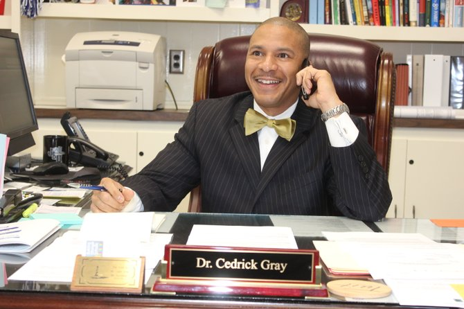 Dr. Cedrick Gray, Jackson Public Schools superintendent, believes COSEBOC can help JPS and its boys of color make better decisions at school and school-related events.