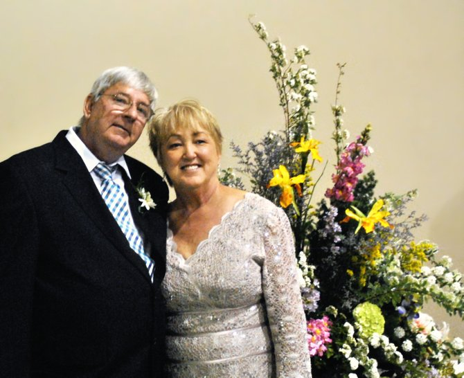 Robin Burton and Joe Pennington, whose previous spouses passed away, married later in life.