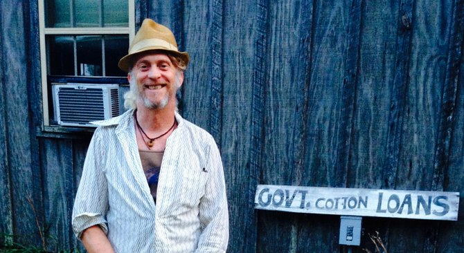 Jimbo Mathus performed at Clinton's auguration and on the Letterman show. Now, the Mississippi State grad is living, loving and playing music in Taylor, Miss.