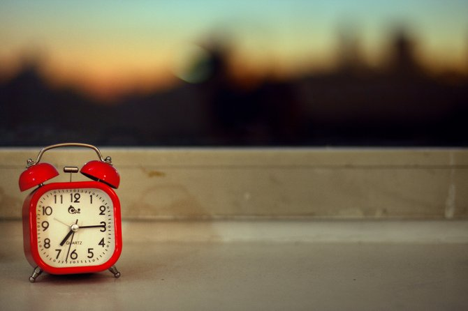 If you find it hard to get out of bed in the morning, try leaving mints beside your alarm clock.