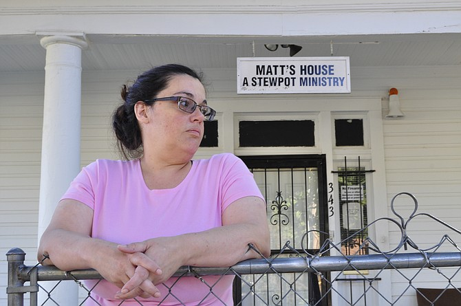 Samantha Stevens was evicted from her home in Rankin County prior to finding a home at Matt's House, which may have to close.