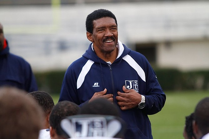Harold Jackson is the head coach of the Jackson State University football team.