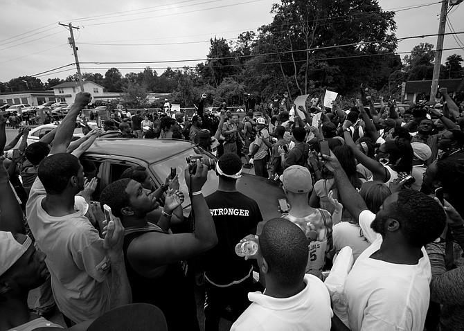 Ferguson in August