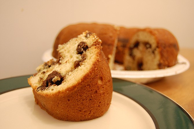 Certain foods, such as coffee cake, can make us nostalgic for Christmas. Photo courtesy Flickr/stuart_spivack