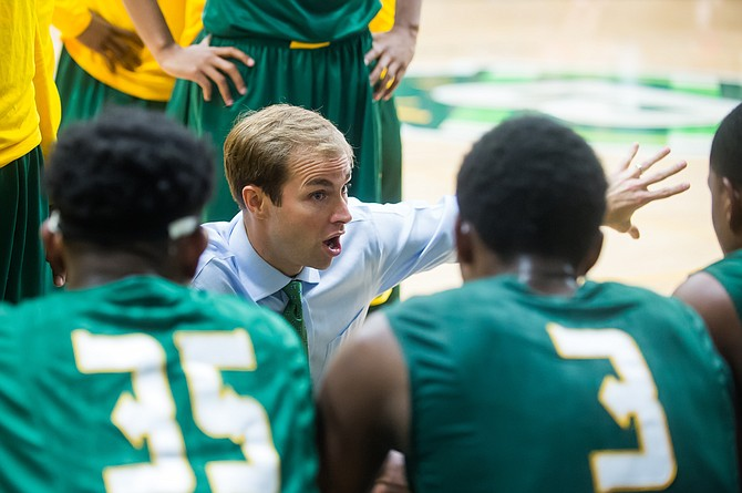 Head coach Jonathan Vines starts at Belhaven with a strong roster. Photo courtesy Belhaven University