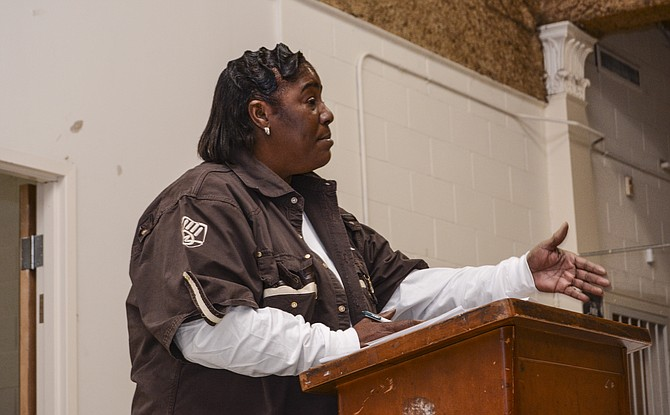 Willa Womack, president of the Battlefield Community Neighborhood Association Board, said residents are working hard to combat negative perceptions of their neighborhood, which has experienced a reduction in crime in the past year.