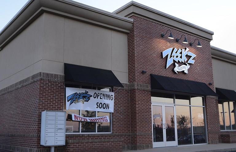 Flowood native Sean Alexander will open Zeek'z House of Gyros (132 Lakeland Heights Blvd., 601-919-9832) Monday, Feb. 16, next to the Flowood Walmart.