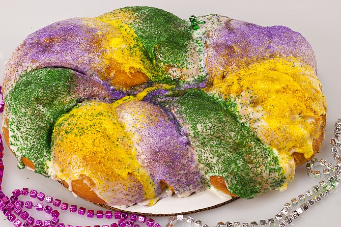 This Valentine's Day and Mardi Gras, celebrate with local restaurants. Photo courtesy Mangia Bene/Liz Lancaster