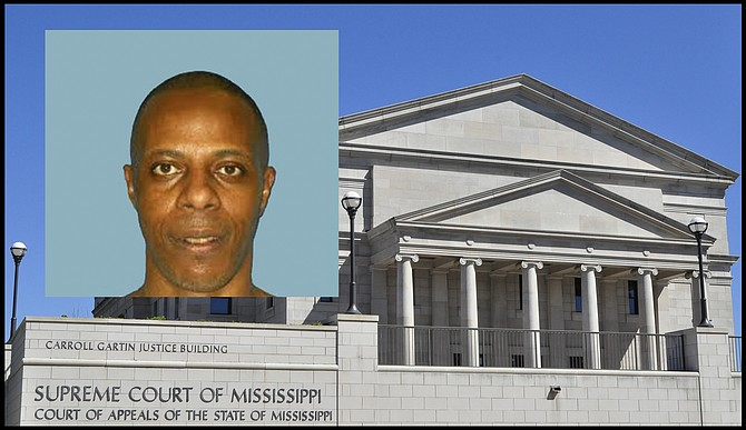 Willie Jerome Manning, one of the last people the state of Mississippi attempted to execute, will get a new trial, the Mississippi Supreme Court ordered on Feb. 12. Photo courtesy Mississippi Supreme Court, Department of Corrections