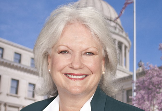 Sen. Nancy Collins, R-Tupelo, pushed a bill that could forbid the state from doing business with Toyota. Photo courtesy Mississippi Senate