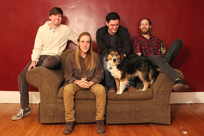 The Waka Winter Classic gives Mississippi bands, such as Hattiesburg indie-rock group Living Together, a chance to perform at the Wakarusa Music and Camping Festival. The tour stops at Duling Hall Thursday, Feb. 26. Photo courtesy Living Together