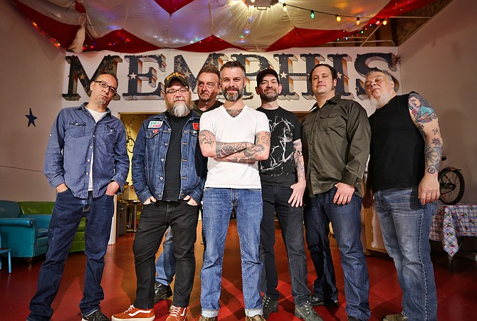 Lucero performs at 7:30 p.m. Friday, Feb. 27, at Hal & Mal's (200 S. Commerce St., 601-948-0888). Ryan Bingham and Twin Forks also perform. Tickets are $20 in advance and $25 at the door, and can be purchased at ardenland.net. For more information, visit luceromusic.com. Photo courtesy Lucero