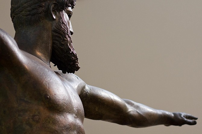 In ancient Greece, athletes who cheated in the Olympics had to pay heavy fines that went toward erecting bronze statues of Zeus meant to publicly shame the cheaters, among other consequences. Photo courtesy Flickr/Jeantil